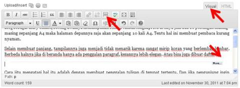 membuat readmore di wordpress