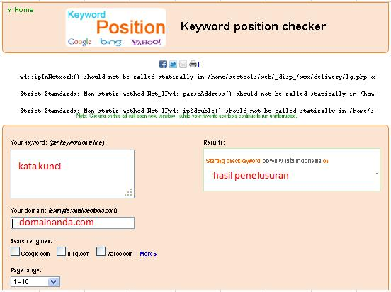 small seo tools|keyword position