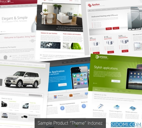 wp-theme by indonez
